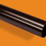 Водосточна тръба Ф110/4000 мм. KANION – Т. Кафяв