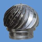 Шапка за комин въртяща Ф 180- инокс