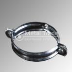 Скоба поцинкова за водосточна тръба Ф100