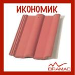Керемида Спектра Икономик – червена/сива(Брамак)